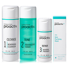 Proactiv 60 Day 4 Piece Kit Containing 3-Step System+ Purifying Mask&Guide Book