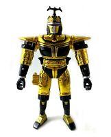 Beetle Blast'n Chromium Gold Vintage Big Bad Beetleborgs Metallix Figure 1997