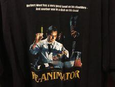 VINTAGE HORROR SHIRT; Lovecraft, RE-ANIMATOR; XL Classic Movie Rare Print