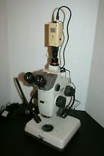 Nice Nikon Smz U Trinocular Stereozoom Microscope Video Amp Darkfield Brightfield