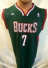 Adidas NBA Jersey MILWAUKEE Bucks Ersan Ilyasova Green Hunter sz XL