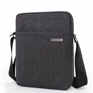 Shockproof Men Shoulder Bags Travel Crossbody bag Buiness Waterproof Pad Canvas