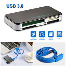Usb 3.0 Card Reader Memory Card Adapter Converter for Tf Sd Mmc Ms 512G Us Stock
