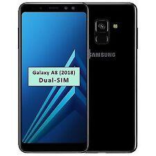 SAMSUNG Galaxy A8 (2018) SM-A530F 32GB SIM Free Unlocked Smartphone Black