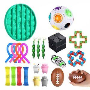 22 Bundle Sensory Fidget Toys Set-Liquid Motion for Stress Relief Timer Autistic