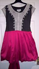 Jovonna London Silk Skirt Dress UK 12-14 rrp €120