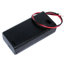 AA Battery Holder Enclosed Box with Switch for 2x AA