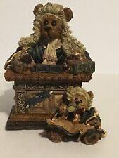 Boyds Bears & Friends Judge Griz. Hissonah #228303 Nos / Store Display