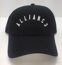 ALLIANC3 Official Black Polo Hat With White Embroidery One Size Fits All