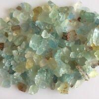 250 Cts Beautiful  Natural Aquamarine Rough Lot Loose Gemstone