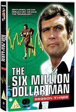 DVD:THE SIX MILLION DOLLAR MAN - SEASON 3 - NEW Region 2 UK