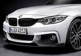 Black Kidney Grille Set Genuine BMW F32 M Performance 4 Series 51712336813