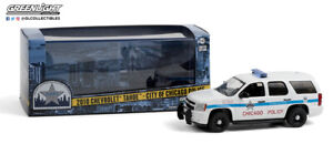Greenlight 1/43 CPD Chicago Police Department 2010 Chevrolet Tahoe SUV 86183