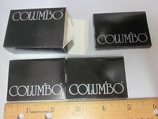 Vtg 1976 COLUMBO 36 Rolling Paper 3 PACK Lot NOS Ruby Fine Rice Taiwan Free Ship