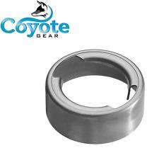 "Coyote Gear 2.28"" Weld In On Aluminum 6061 Filler Neck Gas Fuel Water Tank Bung"
