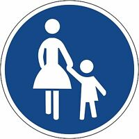 Verkehrszeichen209-31 Fahrtrichtung rechts oder links 600 /& 420mm Durchm.