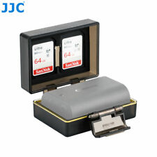 JJC 2in1 Camera Battery & SD Memory Card Storge Protection Hard Case 56x38x21mm