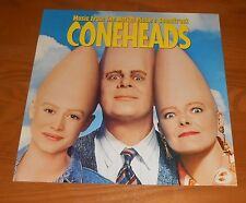 Coneheads Movie Poster Soundtrack 2-Sided Flat Square 1993 Promo 12x12 RARE