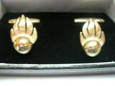 New 9ct Gold AMMUNITION TECHNICAL OFFICER ATO Men's Cufflinks. Made to order.