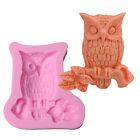 Owl Shaped Silicone Cake Mold Cake Decorating Gum Paste Fondant Clay Soap Mold