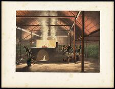 Antique Print-TIN CASTING-JAVA-TANDJOENG PANDAN-BLITONG-INDONESIA-Perelaer-1888