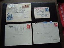FRANCE - 4 enveloppes (cy96) french