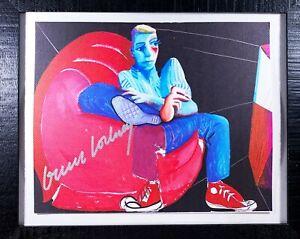 David Hockney / Bild / Druck / original handsigniert / Pappe / orig hand signed