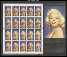 1995 Marilyn Monroe: Legends of Hollywood Series 1 Mint Sheet 20 32¢ Stamps