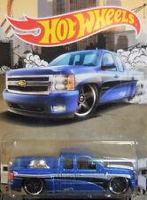 Hot Wheels CHEVY SILVERADO WALMART TRUCK SERIES Lot of (6) SOLD OUT!!  XHTF!!