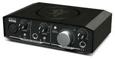 Mackie Onyx Artist 1x2 USB Studio Audio Interface MAC PC plug in Hi-Z Phantom