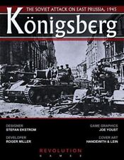 Revolution Wargames Konigsberg: The Soviet Attack on East Prussia New In Ziploc