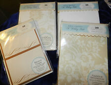Anna Griffin Invitation/Reply Card/Envelope Lot