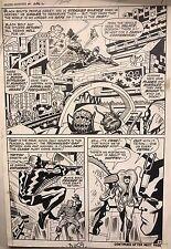 Jack Kirby ORIGINAL ART The Inhumans Amazing Adventures #1 Page 7 Marvel Comics