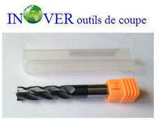 10mm CNC Carbide End Mill Long Series/Fraise Carbure Z4 Série Longue Rev TIALN
