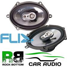 """Fli FI7-F3 - 5x7"""" 420 Watts A Pair 3 Way Triaxial Car Van Door Speakers Pair"""