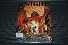 "Knight Force by Titus Vintage PC Game 5.25"" Disks Complete in Box ULTRA RARE"