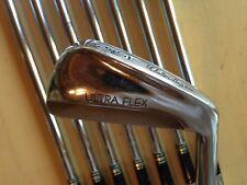 (8) Walter Hagen Golf Ultra Flex Iron Set, 3-PW, CF-3 Controlled Flex