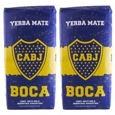 Cachamate Boca Junior Yerba Mate 2 Pack 500gr/ 1lb.1 each