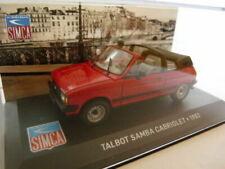SIM13L Voiture 1/43 IXO altaya SIMCA Talbot SAMBA cabriolet 83