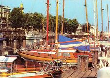 AK, Rostock Warnemünde, Am Alten Strom, Boote, 1981