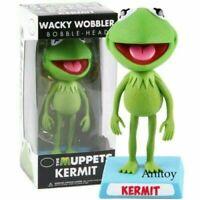 The Muppets Show Kermit The Wacky Frog Wobbler Bobble Head Action Figure toys