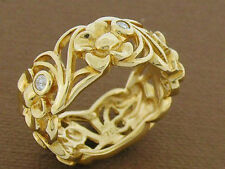 Diamond Eternity Yellow Gold 18k Fine Rings