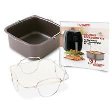 NuWave Gourmet Accessory Kit For NuWave Brio Healthy Digital Air Fryer 36223