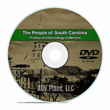 South Carolina SC, People & Civil War, History & Genealogy 207 Books DVD CD B15