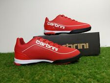 Carbrini Velocity Trainers Junior Size 2 Kids Football Astro Turf Red Sports