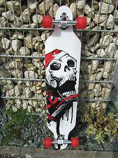 "Longboard 41 LED Rot  DROP RACE ABEC 11  Skateboard ""Hohe Qualität"" °43912"