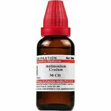Willmar Schwabe Homeopathy Antimonium Crudum (30 ML) 30 CH