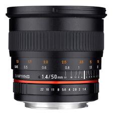 Obiettivi Samyang per fotografia e video Canon 50mm