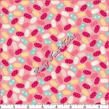 """BENARTEX #03644 """"SWEET SHOPPE"""" CANDY JELLY BEANS COTTON FABRIC PRICED PER 1/2 YD"""