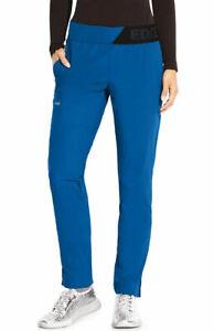 Grey's Anatomy Edge #GEP004 Elastic Waist Designer Scrub Pant in Royal Size XL